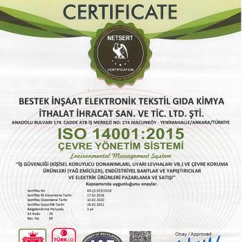Bestek ISO 14001-2015